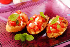 Bruschetta Royalty Free Stock Photo