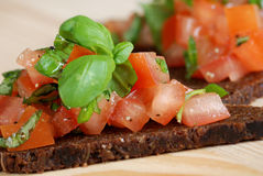 Bruschetta Royalty Free Stock Photography