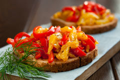 Bruschetta Image stock