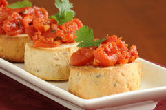 Bruschetta 2 Royalty Free Stock Photography