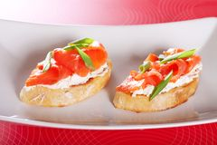 Bruschetta Photographie stock