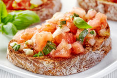 Bruschetta photo stock