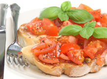 Bruschetta Stock Foto's