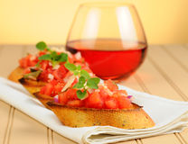 Bruschetta Appetizer Royalty Free Stock Photography