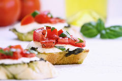 Bruschetta Appetizer Royalty Free Stock Image