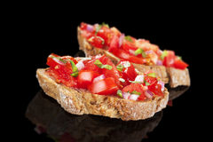 Bruschetta. Stock Photos