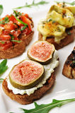 Bruschetta Royalty Free Stock Images