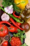 Bruschetta Sauce Stock Image