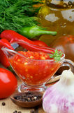 Bruschetta Sauce Royalty Free Stock Photography
