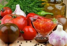 Bruschetta Sauce Stock Photos