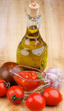 Bruschetta Sauce Royalty Free Stock Photos