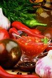 Bruschetta Sauce Royalty Free Stock Photos