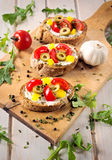 Bruschetta time Royalty Free Stock Images