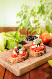 Bruschetta with Tomato Royalty Free Stock Photo