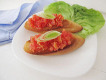 Bruschetta. Stock Images