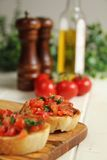 Bruschettas Royalty Free Stock Photo