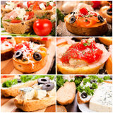 Bruschettas time Royalty Free Stock Photo