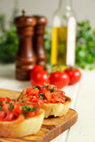Bruschettas Stock Photography
