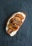 Bruschette de pain de Rye Image stock
