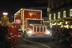 Bruselas, Bélgica, desfile de la Navidad, DEC 2013 Fotos de archivo libres de regalías