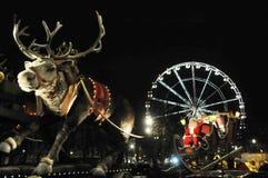 Bruselas, Bélgica, desfile de la Navidad, DEC 2013 Foto de archivo