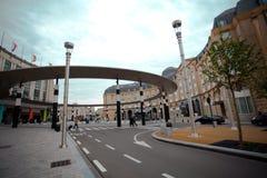Bruselas, Bélgica junio 18,2011 - ferrocarril central de Bruselas Imagen de archivo libre de regalías