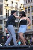 Celebraciones de la comunidad francesa Imagenes de archivo