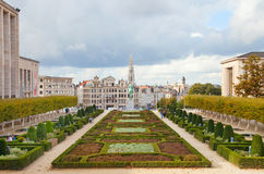 Bruselas en el otoño Fotos de archivo