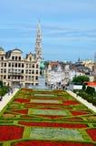 Bruselas en verano imagenes de archivo