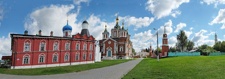 Brusensky Assumption Monastery in Kolomna Stock Photos