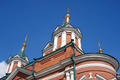 Brusensky monastery. Old orthodox church. Kremlin in Kolomna, Russia. Royalty Free Stock Image
