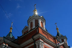 Brusensky monastery. Old orthodox church. Kremlin in Kolomna, Russia. Stock Images