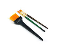 Brush. Art brush of various sizes Royalty Free Stock Images