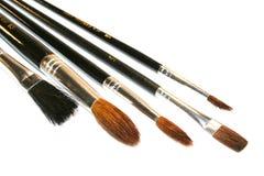 Brush. On a white background stock photos