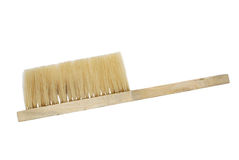 Brush. Brush for cleaning on a white background Stock Image