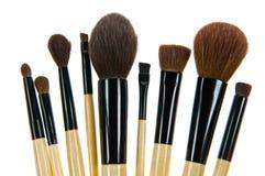 Brush. Make-up brushes isolated on white background Stock Photo
