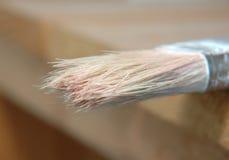 Brush. Used paint brush Stock Images