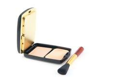 Brush. Professional makeup brush on a white background Stock Image