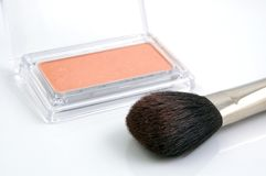 Brush. For Make Up Royalty Free Stock Photo