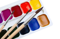 Brush And Paint Royalty Free Stock Photo