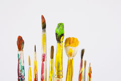 Brush art Stock Images