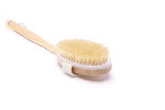 Brush bathroom on the white background Stock Image