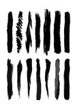 Brush blot Royalty Free Stock Images