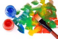 Brush bottle Stock Images