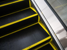 Brush bristles of Escalator for danger accident concept Royalty Free Stock Photos
