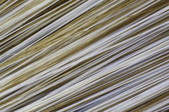 Brush Bristles. Macro of multi-coloured brush bristles stock image
