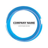 Brush Circle Logo. Creative logo template. suitable for Creative or IT industry and other business related. editable in the eps file Stock Photos