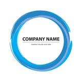 Brush Circle Logo Stock Photos