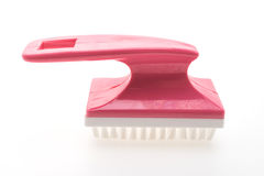 Brush for cleaning foot Royalty Free Stock Photos