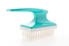 Brush for cleaning foot Royalty Free Stock Image
